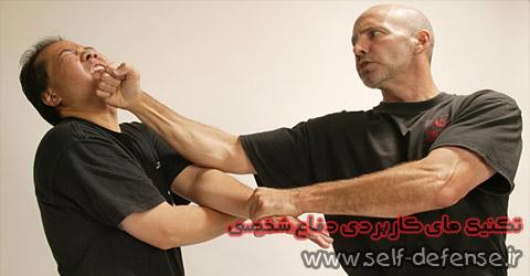 تکنیک جدید دفاع شخصی در مقابله با ضربه مشت