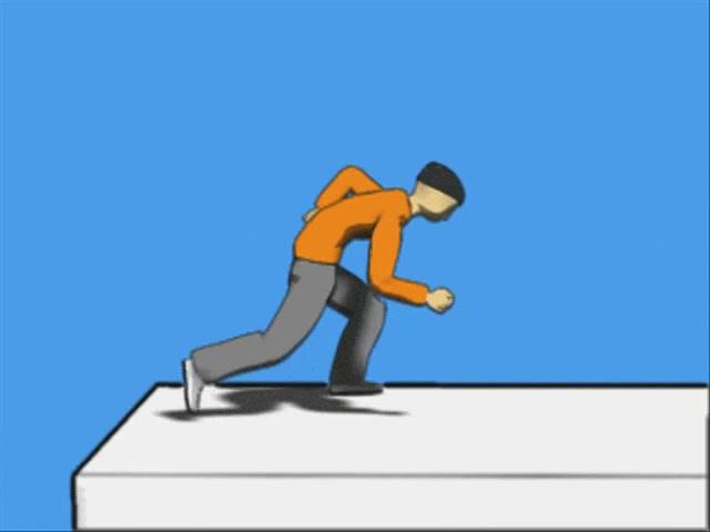 انیمیشن آموزشی حرکات مقدماتی پارکور